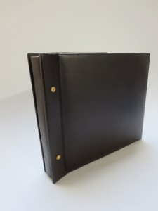 Leather Post Bound Book